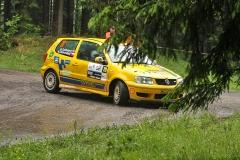 M.Daňhelová / M.Zikmundová - 39. Rallye Český Krumlov (foto: J.Kacerovský)