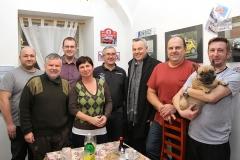 Záštitu našemu týmu udělil starosta Kaplice Pavel Talíř (se šálou)