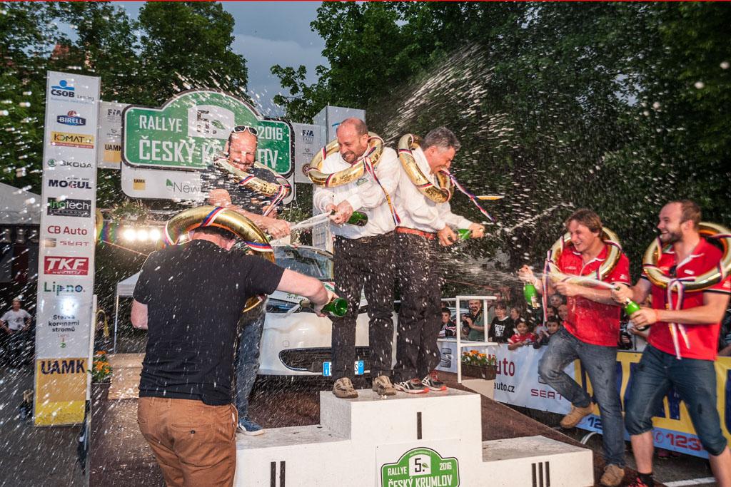 Tři nejlepší posádky letošní New Energies Rallye