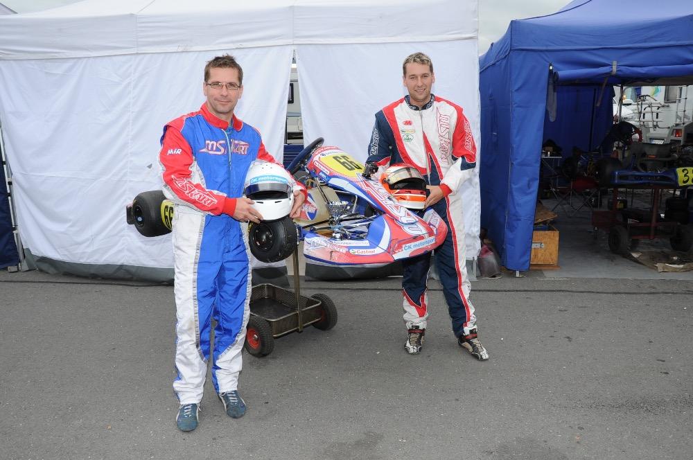 Jan Pícha s Martinem Vidršperkem (zleva).